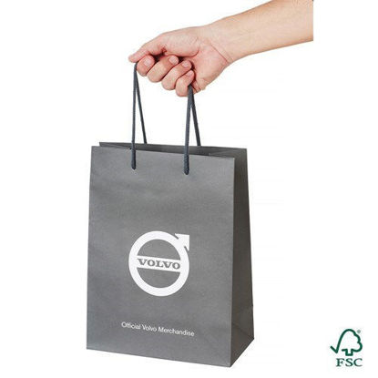 Picture of Volvo Iron Mark Paper Bag Small  (50-pack)