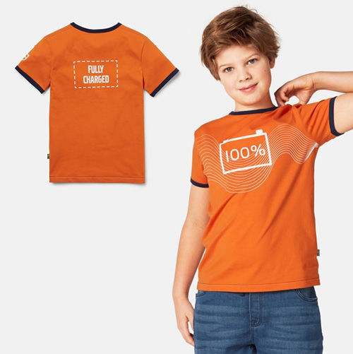 Picture of Volvo Iron Mark Youth Tee