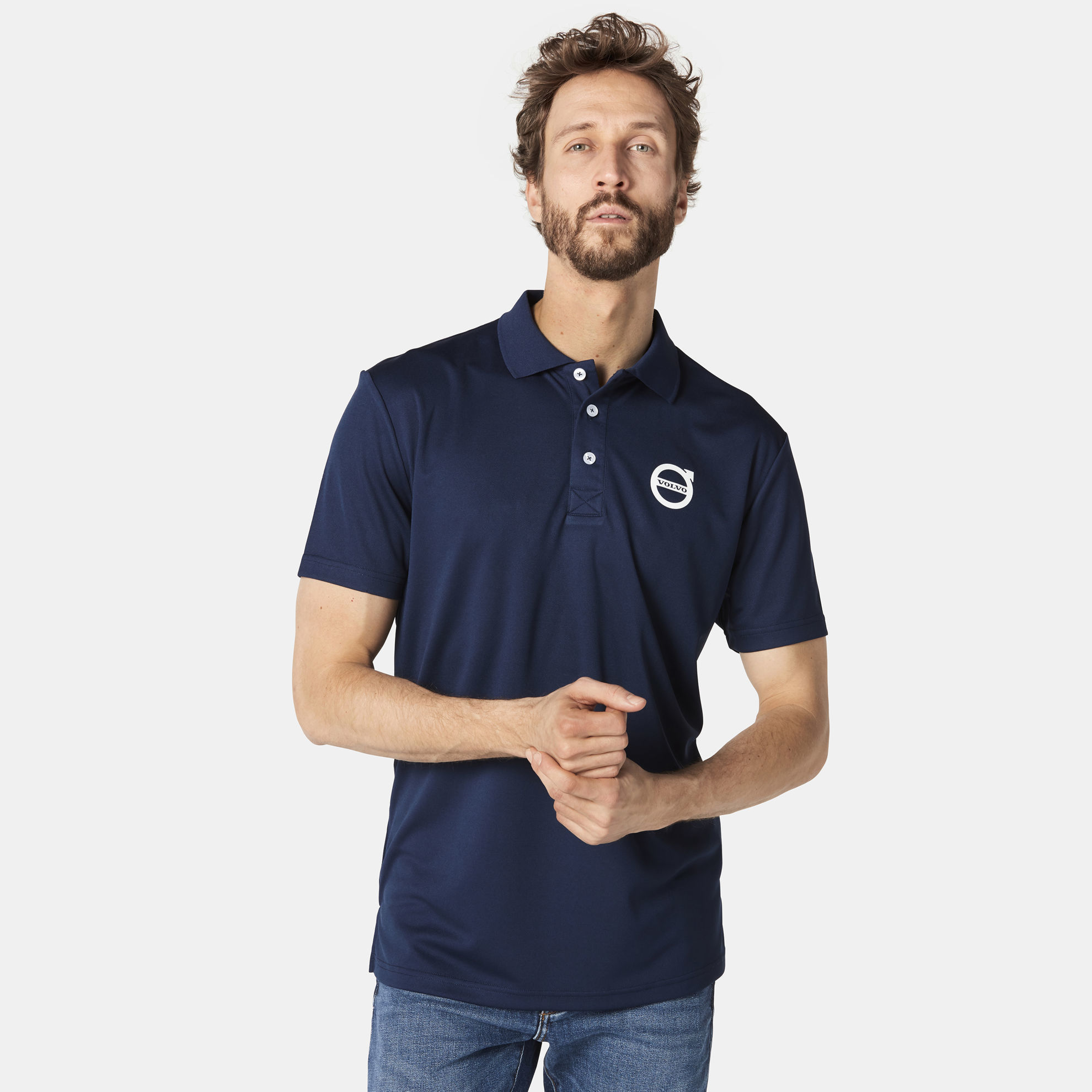 Picture of Volvo Iron Mark Functional Polo
