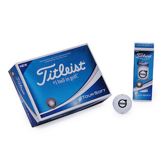 Picture of Volvo Iron Mark Titleist Golf Balls