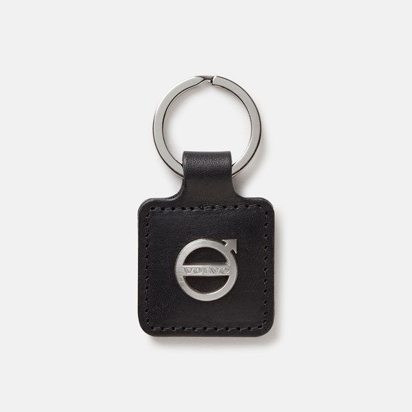 Picture of Volvo Iron Mark Leather Key Ring