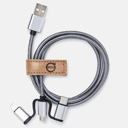 Picture of Volvo Iron Mark USB Charger Cable