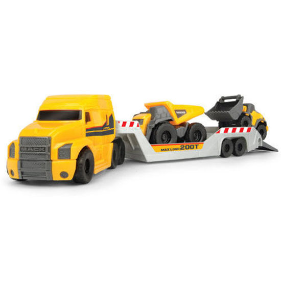 Picture of Truck with Volvo Machines