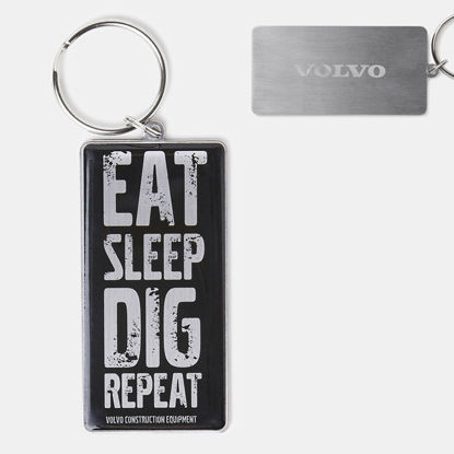 Picture of Eat Sleep Dig Repeat Key Ring