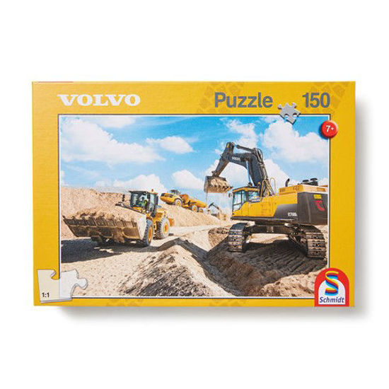 Picture of Volvo Machines 150 piece Puzzle